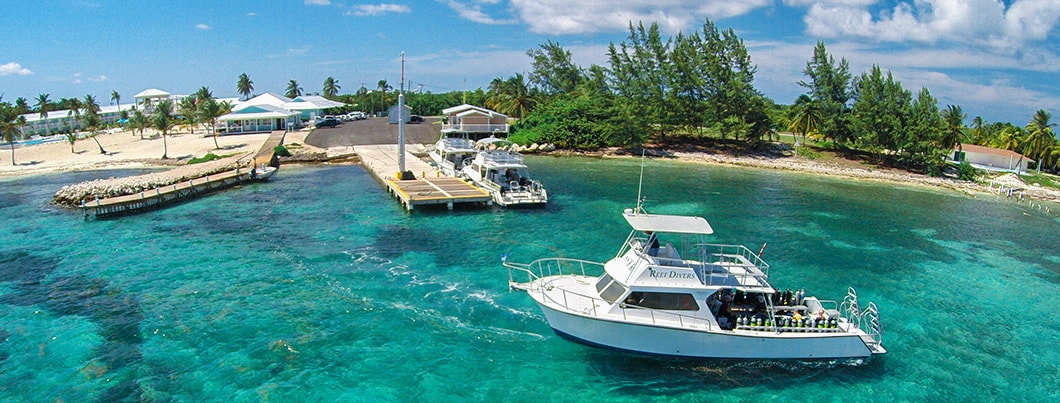 Cayman Brac Dive Boats & Staff