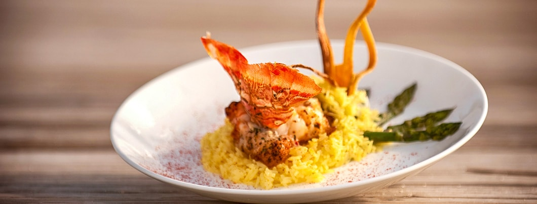 cayman brac lobster and rice plate 1060x403 min