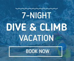 7-nights dive & climb vacation