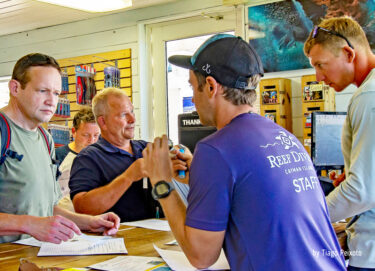 No More Paper for Reef Divers Registrations